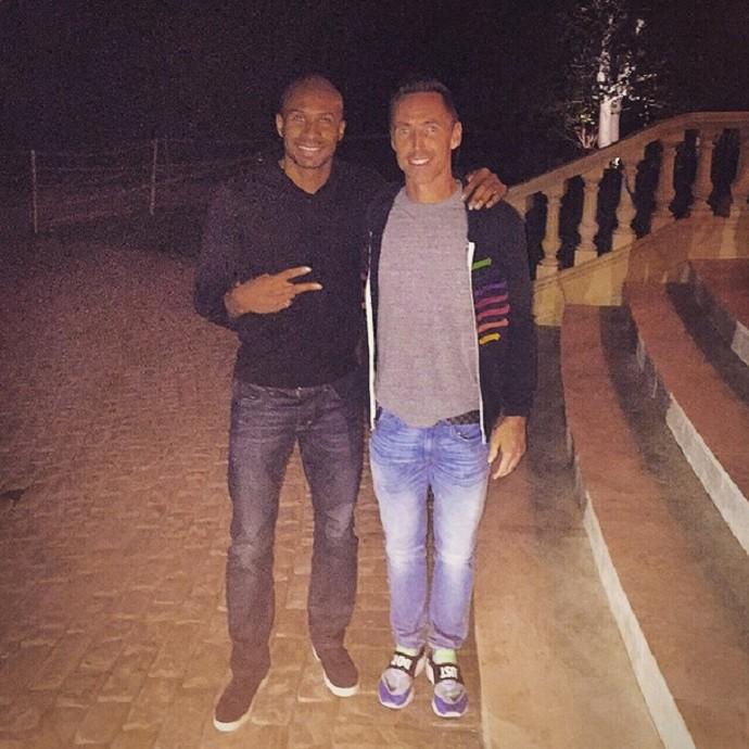 Leandrinho e Steve Nash (Foto: Reprodução/Instagram)