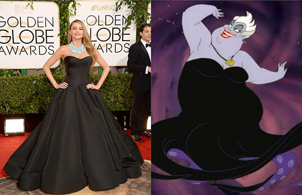 Sofia Vergara como Ursula (Foto: Getty Images)