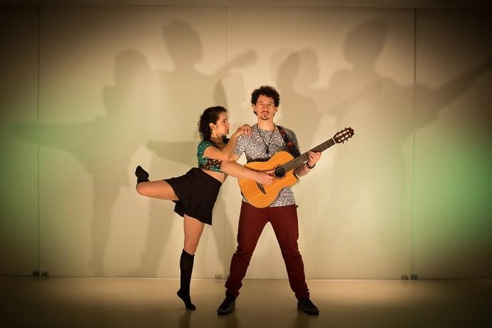 Juliana e Saulo foram unidos pelo amor à musica (Foto: Rodrigo Fonseca)