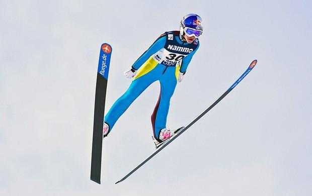 Sarah Hendrickson salto esqui  (Foto: Reuters)