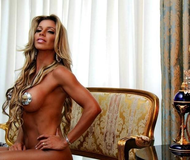 Patrícia Oliveira, candidata a Miss Bumbum representando o Mato Grosso (Foto: Mia Vargas/Divulgação)