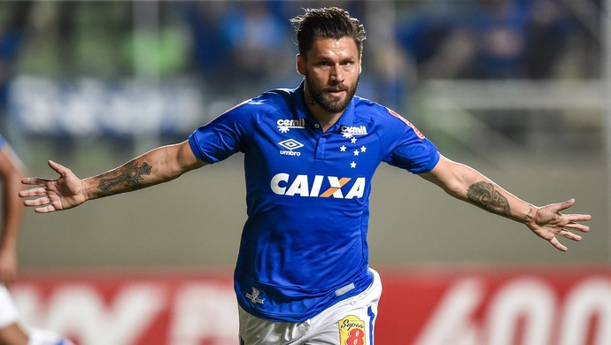 Rafael Sobis; Cruzeiro (Foto: Pedro Vilela/Light Press)
