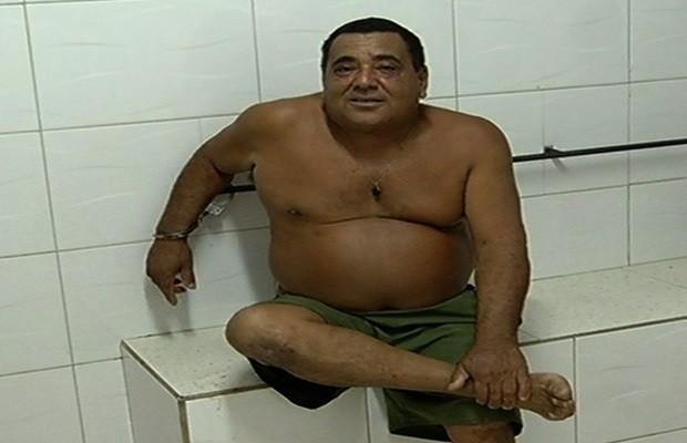 Vereador é preso após acidente e admite que bebeu 'duas pingas' em Anhanguera, Goiás (Foto: Reprodução/TV Anhanguera)