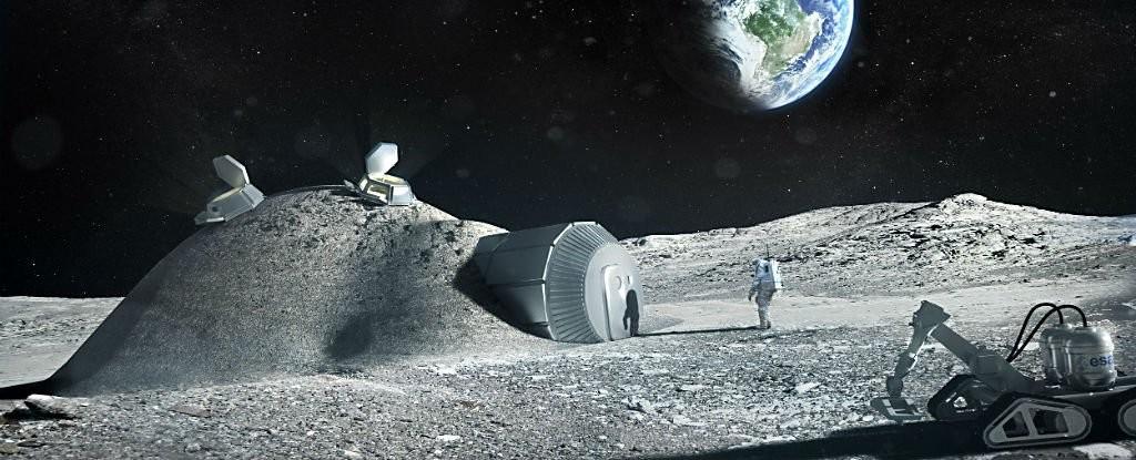 base (Foto: ESA)