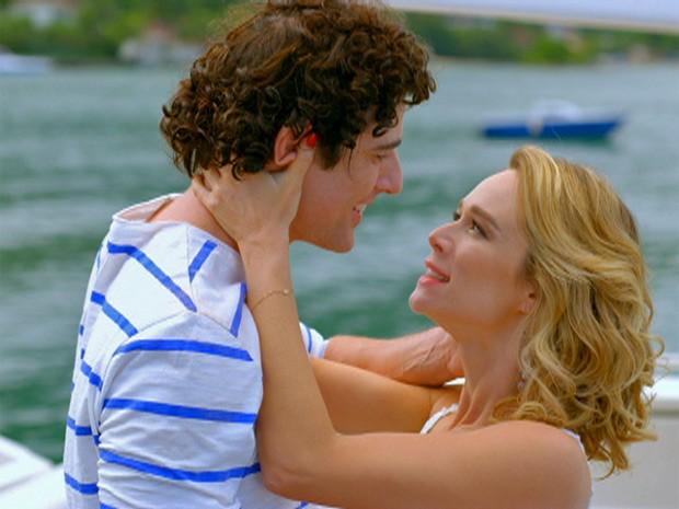 Nando e Juliana enfim juntos (Foto: Guerra dos Sexos / TV Globo)
