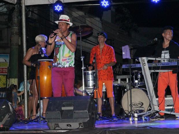 Marchinhas de Carnaval estavam no repertório dos músicos (Foto: Suelen Gonçalves/ G1 AM)