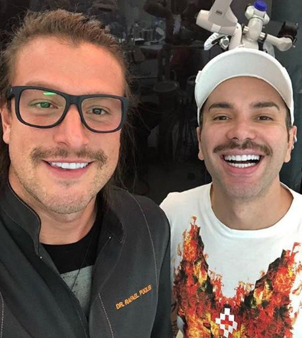 Famosos que mudaram o sorriso com lente de contato (Foto: Reprodução/Instagram)