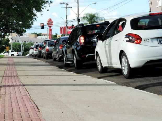 Frota em Presidente Prudente é de 110.896 veículos (Foto: Stephanie Fonseca/G1)