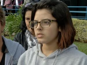Filha de esportista pede respeito ao luto da família (Foto: Reprodução/TV Diário)