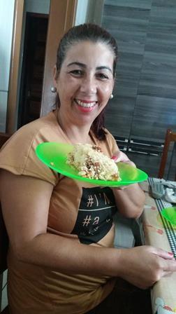 Rosilene Mara Cardoso Timm inscreveu a receita (Foto: RBS TV/Divulgação)