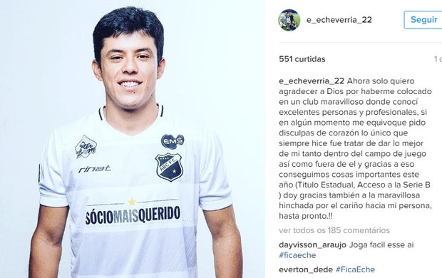 Echeverria instagram ABC