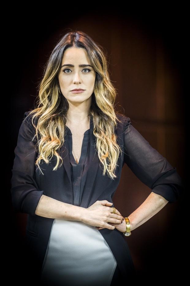 Fernanda Vasconcellos, a Bruna de Haja Coração (Foto: João Miguel Junior/TV Globo)