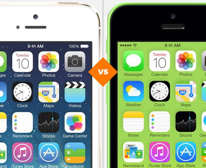 iPhone 5S ou iPhone 5C? Descubra qual smartphone antigo da Apple vale o investimento. (Foto: Arte/TechTudo)