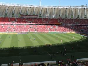Beira-Rio Inter Internacional Goiás (Foto: Tomás Hammes / GloboEsporte.com)