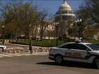 Homem é baleado ao tentar entrar armado no Congresso americano