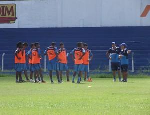Treino do CSA 04/06/13 (Foto: Caio Lorena / Globoesporte.com)