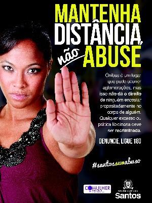 Santos lança campanha contra o abuso sexual (Foto: Divulgação / Prefeitura Municipal de Santos)