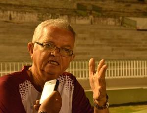 Manoel Demócrito, presidente do Auto Esporte (Foto: Rammom Monte / GloboEsporte.com/pb)