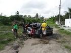 Jovem morre após carro sair da pista (Ney Silva/Acorda Cidade)