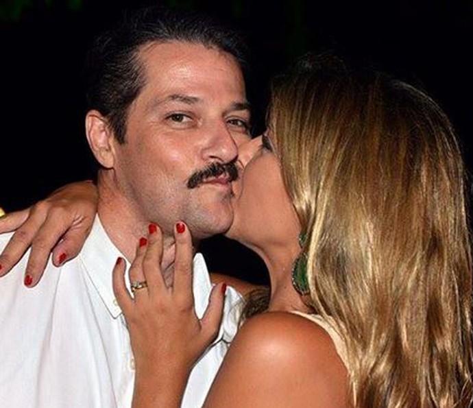 Marcelo Serrado é casado com a bailarina Roberta Serrado (Foto: Arquivo Pessoal)