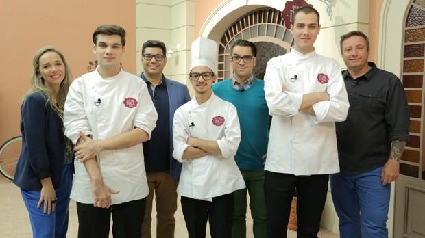 Novo reality show gastronmico do GNT, Que Seja Doce simula confeitaria profissional  (Foto: Divulgao)