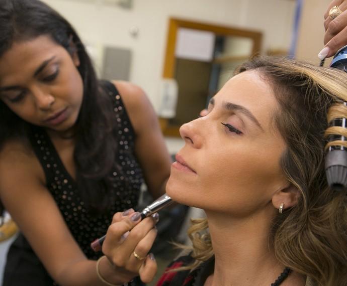 Giovanna Antonelli usa produtos cremosos (Foto: Inácio Moraes/ Gshow)