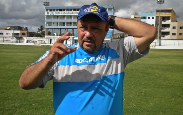 Treinador do Guarany, Adelmo Soares, Cearense 2012 (Foto: Divulgação/Guarany de Sobral)