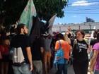 Manifestantes ocupam sede da Fiern e fecham avenidas em Natal