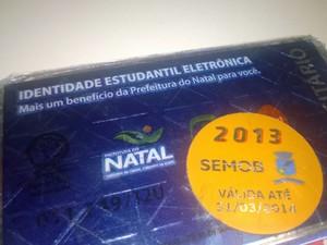 Validade das carteiras estudantis se encerraria no dia 31 de março (Foto: Felipe Gibson/G1)
