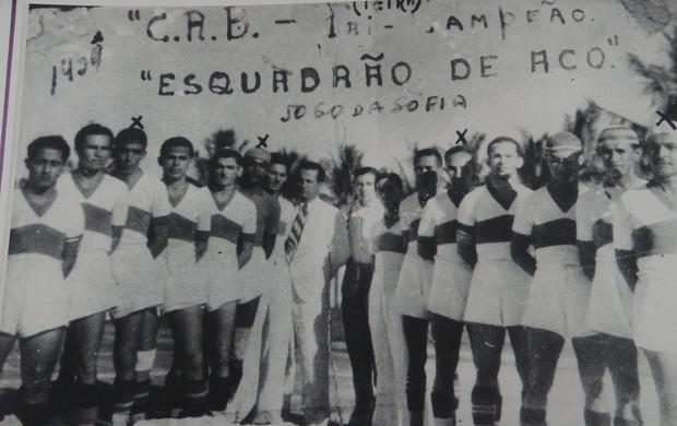 Time do CRB no Jogo da Sofia (Foto: Leonardo Freire/GLOBOESPORTE.COM)