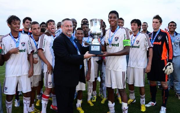 Fluminense campeão da taça guanabara Sub 20 (Foto: Bruno Haddad/Fluminense FC)