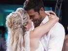 Beto Malfacini e Aryane Steinkopf comemoram dois meses de casados