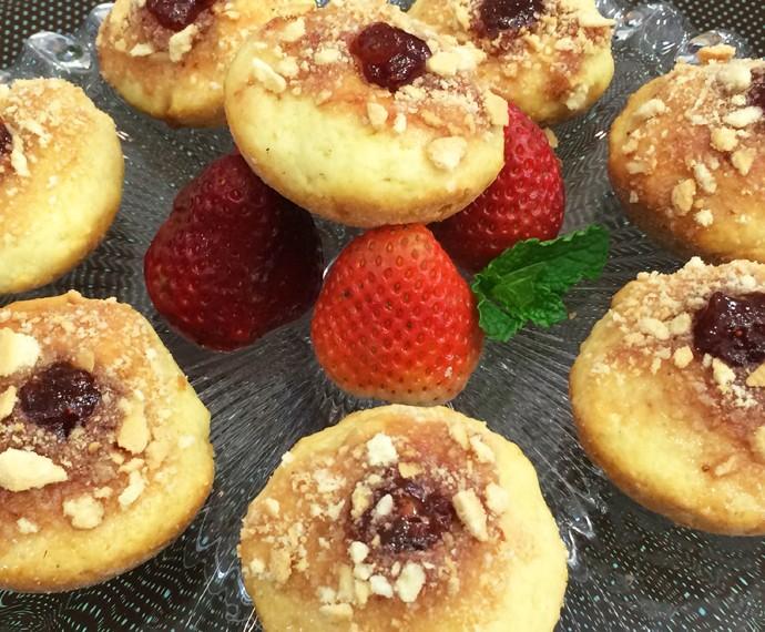 Muffin Recheado (Foto: Mais Você / Gshow)