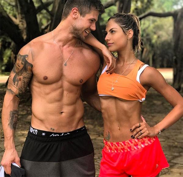Mariana Gonzalez e Jonas Sulzbach (Foto: Reprodução/Instagram)