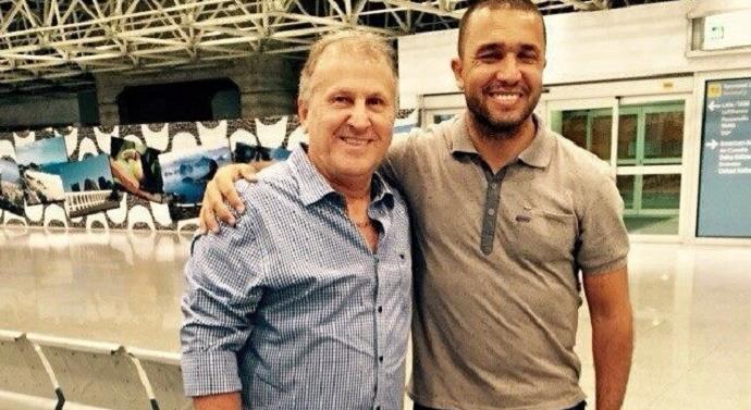 Zico segue para a Índia Goa FC (Foto: Reprodução / Instagram)