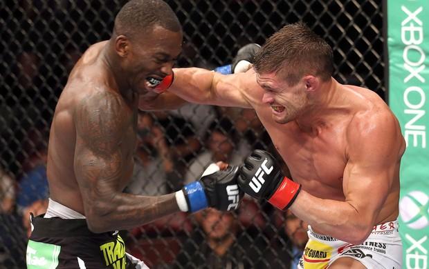 Anthony Njokuani e Daron Cruickshank, UFC (Foto: Getty Images)