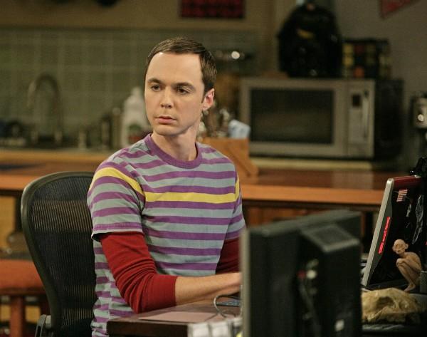 O ator Jim Parsons em 'The Big Bang Theory' (Foto: Reprodução)