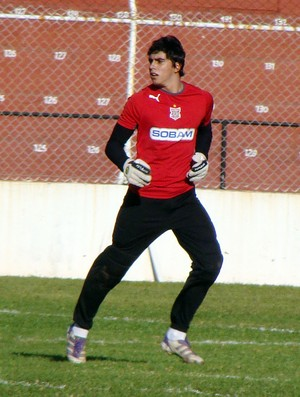 Richard, goleiro do Paulista (Foto: Divulga&#231;&#227;o/Paulista)