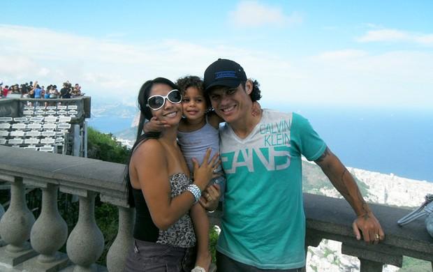 Márcio Azevedo família Cristo Botafogo (Foto: Arquivo pessoal)