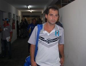 Tazinho, meia do CSP (Foto: Lucas Barros / Globoesporte.com/pb)