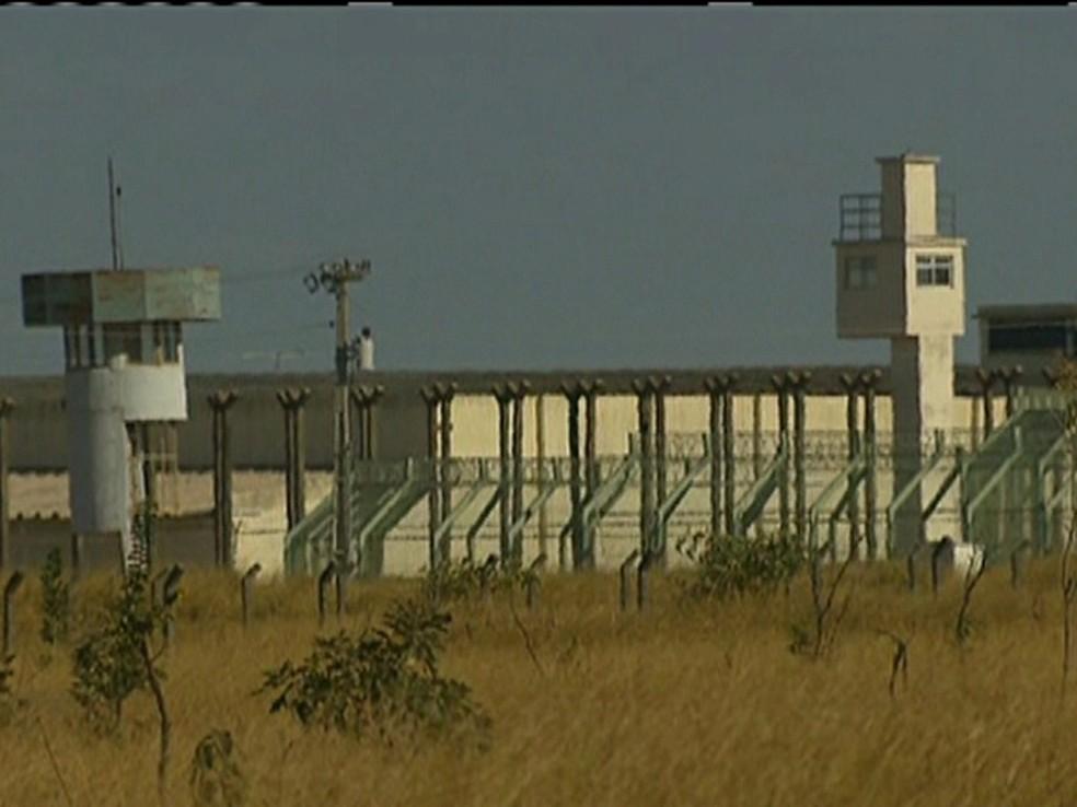 Complexo Penitenciário da Papuda, em Brasília (Foto: GloboNews/Reprodução)