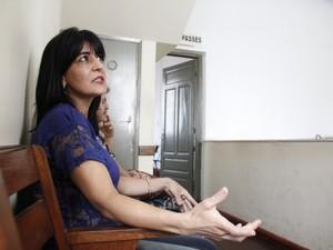 Iole Angelo Cintra fala de sua experiência com o 'passe' (Foto: Isabela Ribeiro/ G1)