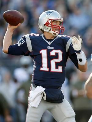 New England Patriots x Detroit Lions Tom Brady (Foto: Reuters)