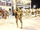 Musas voltam a Sapucaí para o desfile das campeãs do Rio de Janeiro