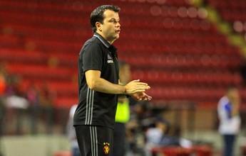 Daniel Paulista elogia setor ofensivo do Sport diante do Sete de Dourados