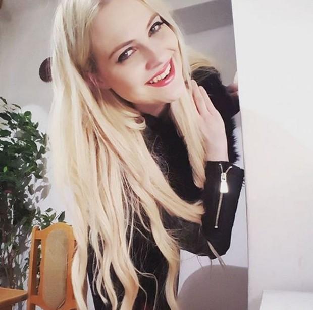 Veronika Bufková, a tcheca que vai participar do Miss Bumbum (Foto: Reprodução/Facebook)