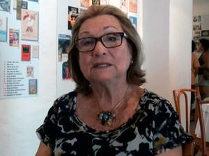 Myriam Fraga, diretora da Casa de Jorge Amado, na Bahia (Foto: Imagem/G1 BA)