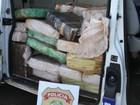 Polícia Federal apreende 2,1 toneladas de maconha no Paraná