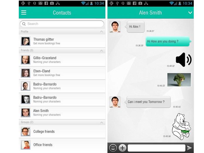 PlumUP é um aplicativo gratuito para troca de mensagens e ligações (Foto: Divulgação)