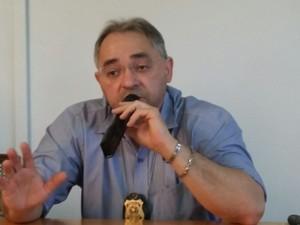 Delegado Marcos Roberto Costa, da Polícia Federal (Foto: Ellyo Teixeira/G1)